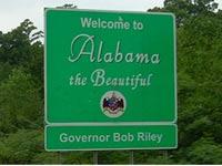 Alabama donation pickup.