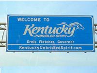 Kentucky donation pickup.