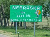 Nebraska donation pickup.